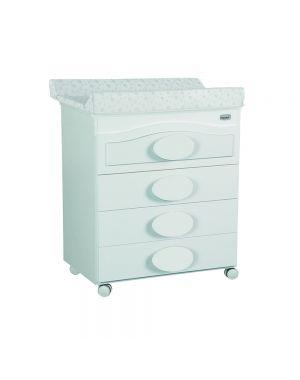 Alexa Bath Changing Unit  - White