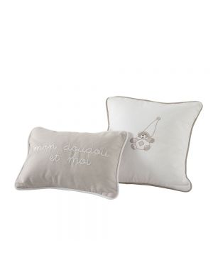 Dou-Dou Set of 2 Cushions