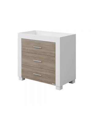 Duke Chest of Drawers - White and Wood