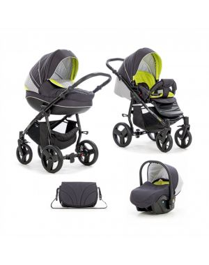 Tutis Mimi Plus Dark-Grey-Lime