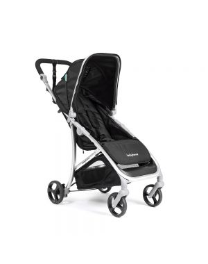 Vida Stroller - Black and Silver Frame