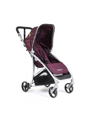 Vida Stroller - Purple and Silver Frame