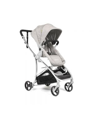 Vida Plus Travel System - Sand and Silver Frame