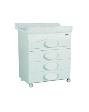 Alexa Bath Changing Unit  - White