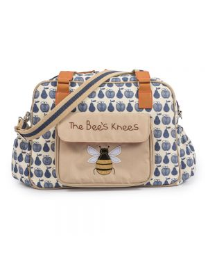 The Bee's Knees - Apples & Pears Blue