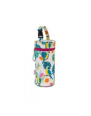 Bottle Holder Parrot Cream