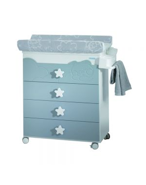 Dolce Luce Baby Changing Unit - White and Grey