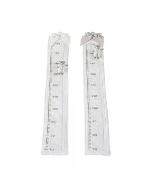 Dou-Dou Fabric Measuring Ruler - White