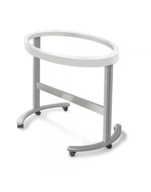 Smart Oval Shaped Cradle Structure - Silver