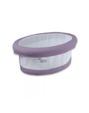 Smart Fresh Bassinet - Lilac with Mesh