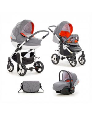 Tutis Mimi Plus Grey-Orange