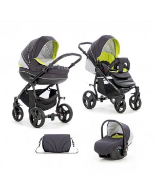 Tutis Mimi Plus Grey-Yellow