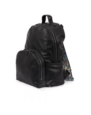 Shoreditch Vegan Leather Backpack Black