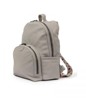 Shoreditch Vegan Leather Backpack  Grey
