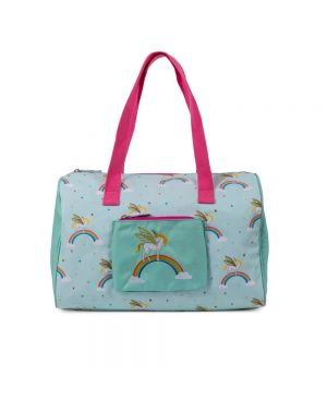 Pink Lining Child Overnight Bag  Unicorn