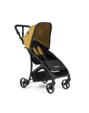 Vida Stroller - Mustard and Black Frame