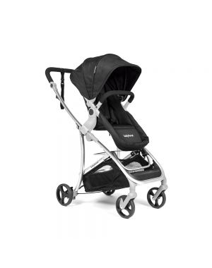 Vida Plus Travel System - Black and Silver Frame