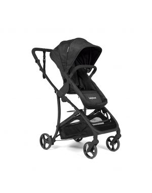 Vida Plus Travel System - Black and Black Frame